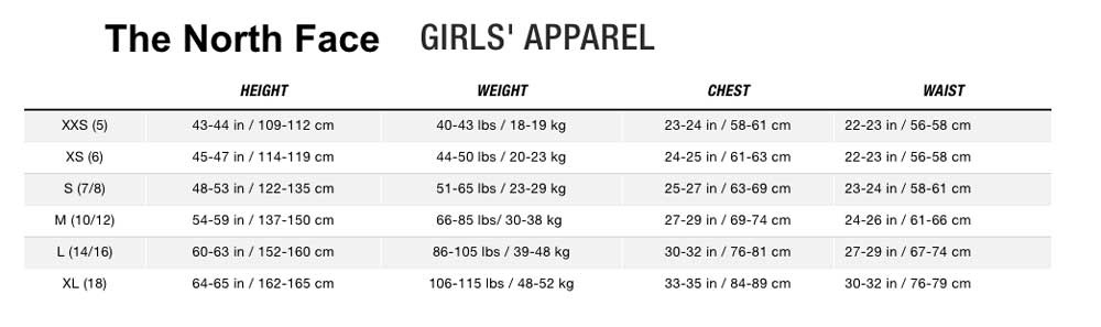 Jr Girls- The North Face [Jacket and Pants}