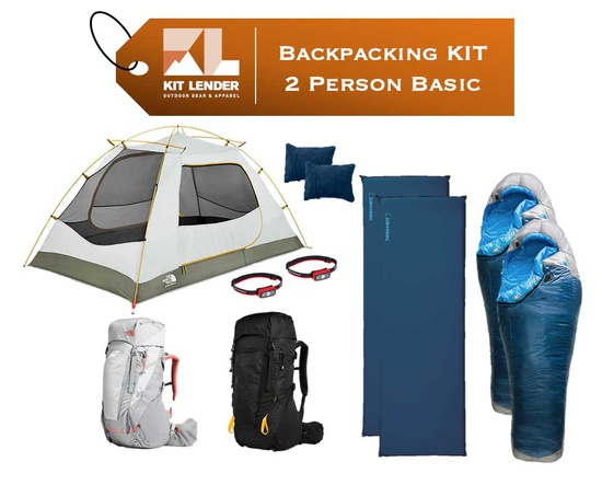 Backpacking KIT - 2 Person - [BASIC]