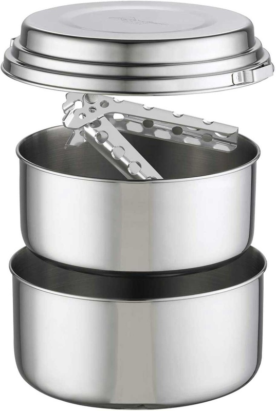 [Pot Set] - MSR (Stainless Alpine 2)