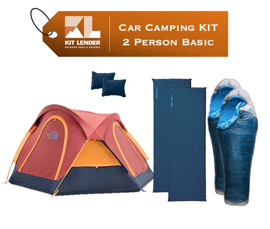 Car Camping KIT - 2 Person - [BASIC]