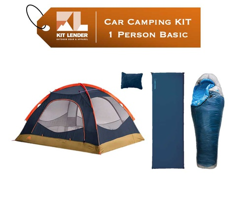 Car Camping KIT - 1 Person - [BASIC]