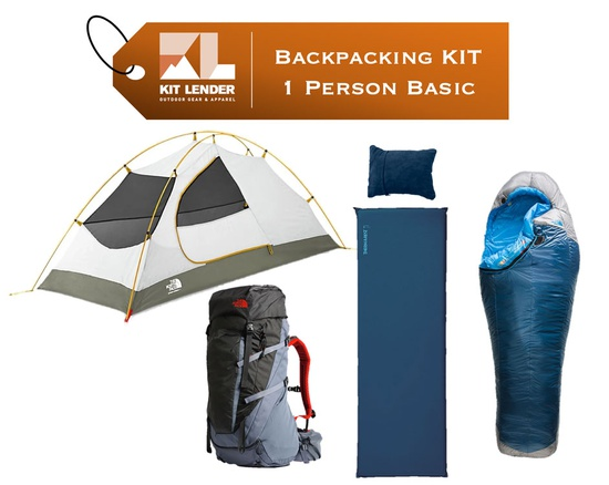 Backpacking KIT - 1 Person - [BASIC]