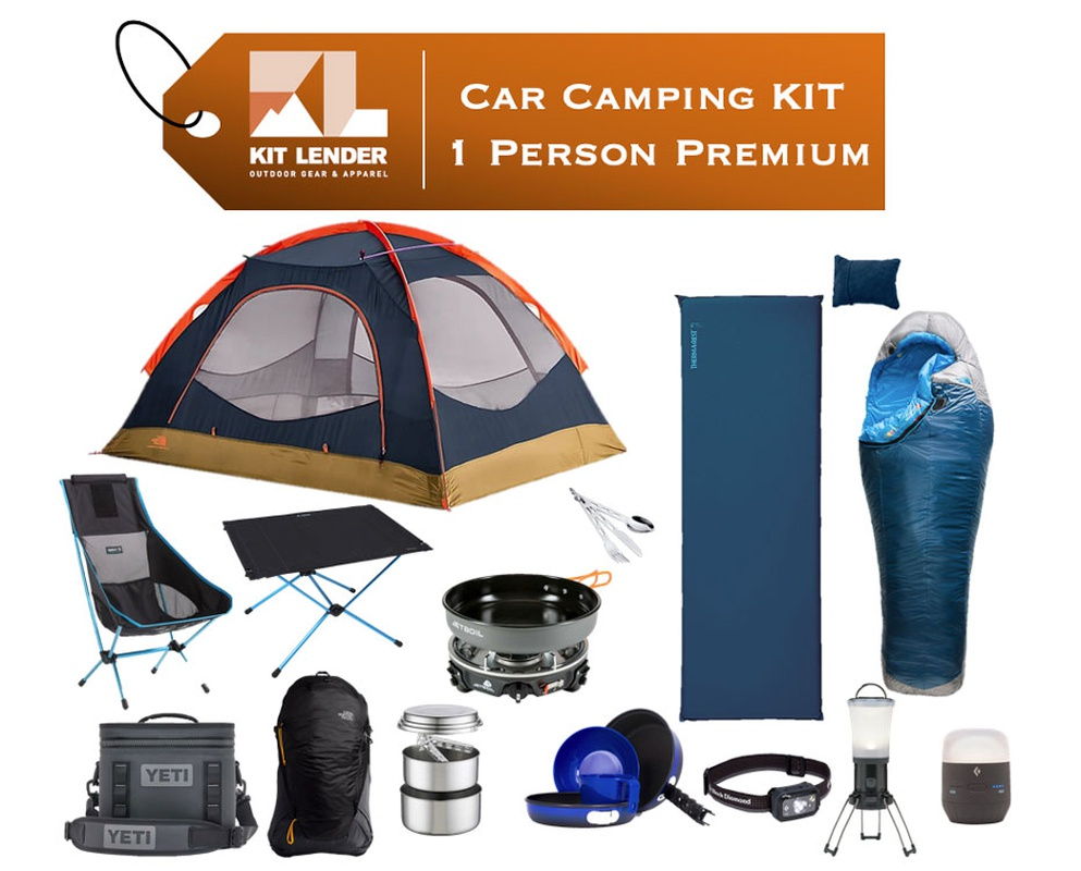 Car Camping KIT - 1 Person - [PREMIUM]
