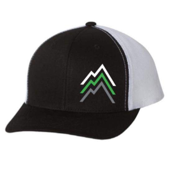 [Cap] - Unisex  - Kit Lender (Black 3 Peaks Trucker Cap)