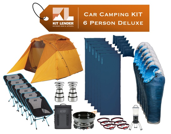 Car Camping KIT - 6 Person - [DELUXE]