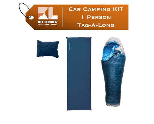 Car Camping KIT - 1 Person - [TAG-A-LONG]