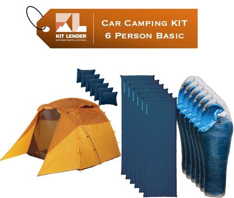 Car Camping KIT - 6 Person - [BASIC]