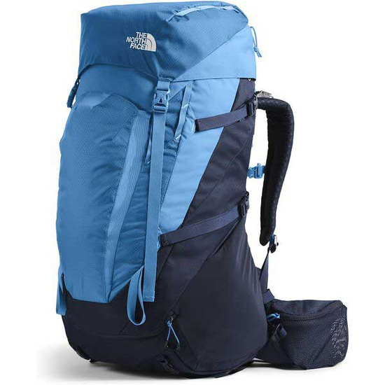 [Backpack] - Jr Unisex - North Face (Blue / Youth Terra 55L)