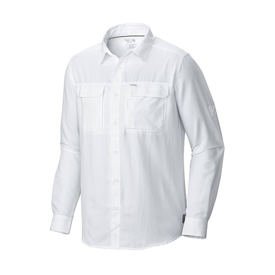 [Hiking Shirt] - Men's - Mountain Hardwear (Canyon White)