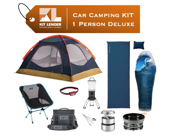 Car Camping KIT - 1 Person [DELUXE]