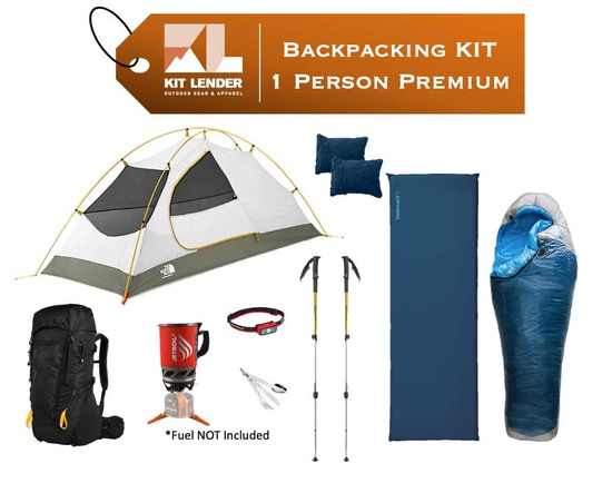 Backpacking KIT - 1 Person - [PREMIUM]