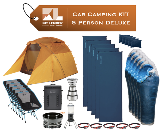 Car Camping KIT - 5 Person - [DELUXE]