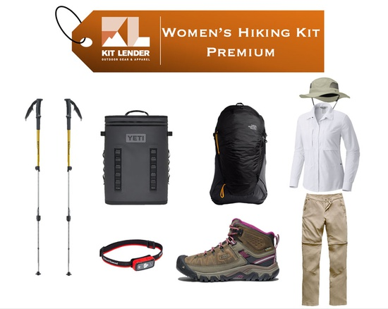 Women's - Hiking KIT - [PREMIUM]