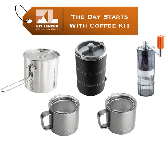 SPECIALTY KIT - [The Day Starts With Coffee]