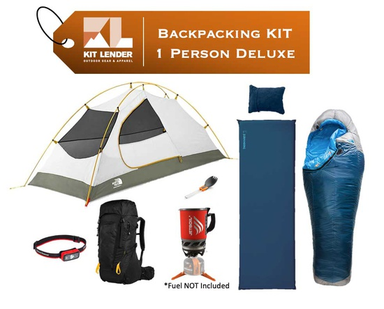 Backpacking KIT - 1 Person - [DELUXE]