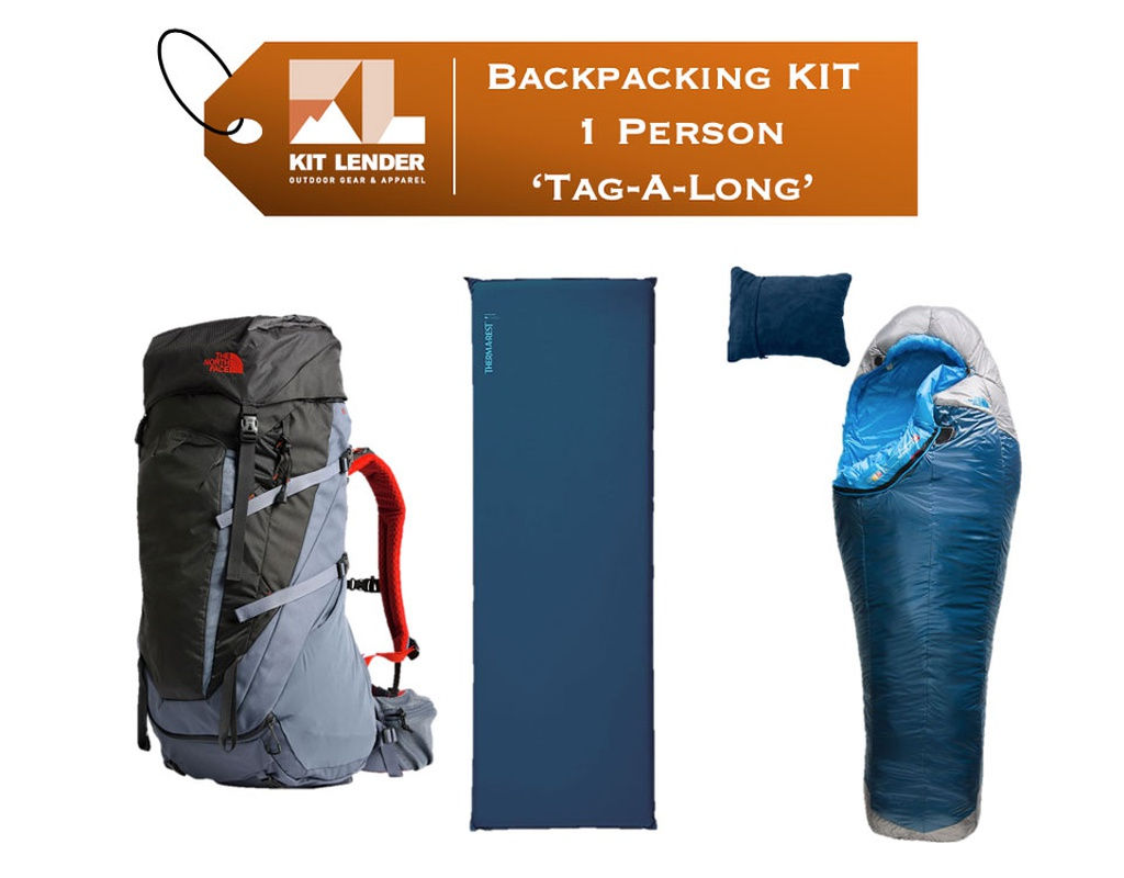Backpacking KIT - 1 Person - [TAG-A-LONG]