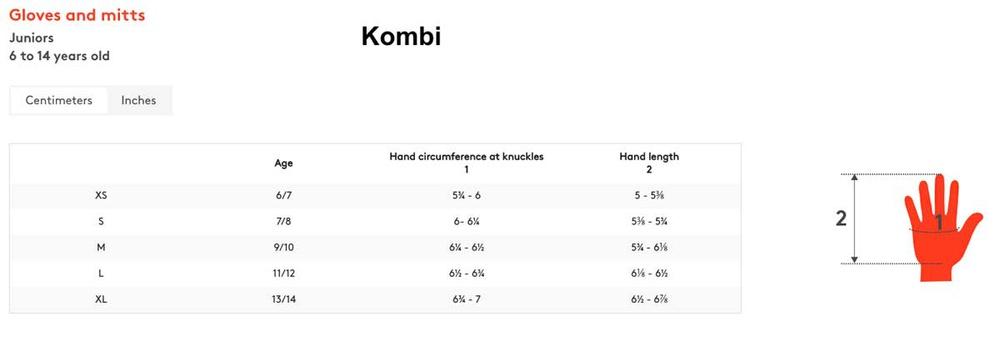 Junior Unisex- Kombi [Glove}
