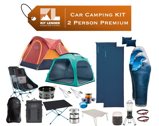 Car Camping KIT - 2 Person - [PREMIUM]