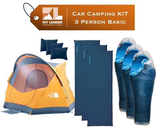 Car Camping KIT - 3 Person - [BASIC]