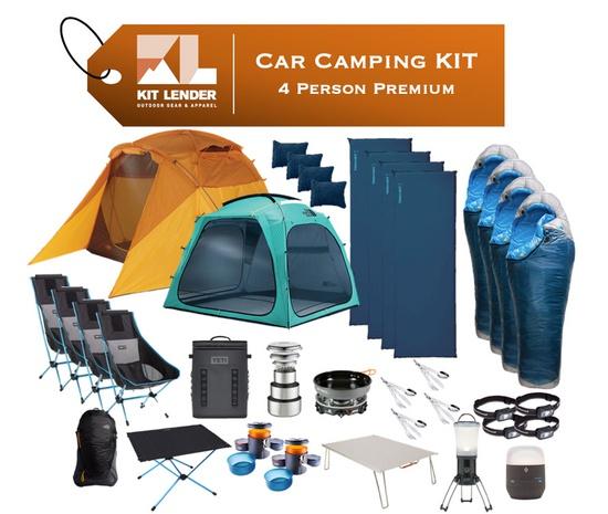 Car Camping KIT - 4 Person - [PREMIUM]