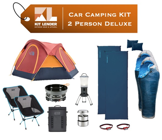 Car Camping KIT - 2 Person - [DELUXE]